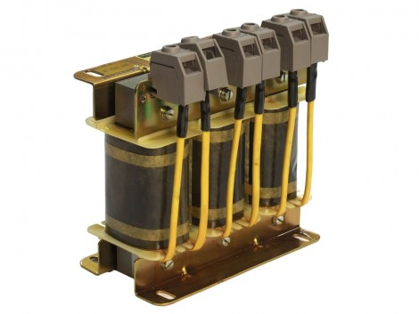 INDUCTANCE (THREE-PHASE ALT.CURRENT) 0,42MH 25A