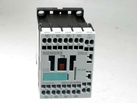AUXILIARY CONTACTOR 24 VDC. 3RH1140-2BB40