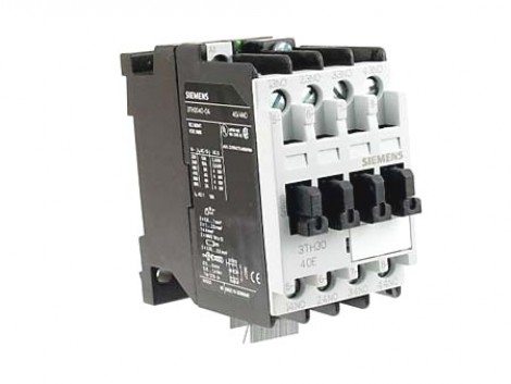 AUXILIARY CONTACTOR V110 50/60 3TH3040-0AG2 SIEMEN