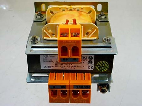 1PH.TRANSFORMER 50 VA +-20V110 S=18 CE/CSA-UL