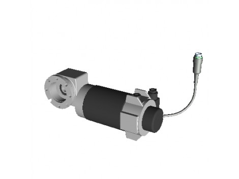 CC MOTOR WITH BUILT-IN REDUCER R=10 280RPM 10.4NM