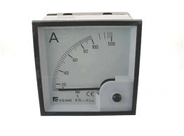 AMMETER CA-TA 100/5 0-100A 5XIN 96X96