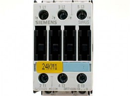 POWER CONTACTOR (3-POLE) 24 VDC. 3RT1026-1BB40 SIE