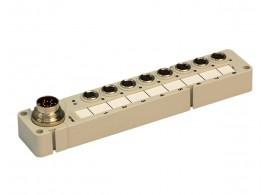 BOX IO 8P M8 OUT M16 757-383