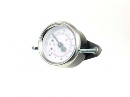 PRESSURE GAUGE 0-10 BAR 1/8 AS. D=40 FNST. M3F-40