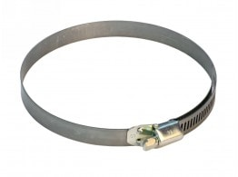 HOSE CLAMP WITH WORM 137-157 H=14