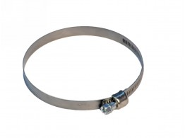 HOSE CLAMP WITH WORM 62-82 H=8