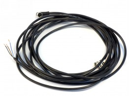 WIRED CABLE M8 3P FEM 90GR P.MOBILE CL6 5,0MT