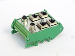 CAN-OPEN CARTER M12-M/F->N.4 RJ45